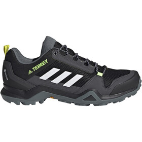 adidas TERREX AX3 Gore-Tex Hiking Shoes Waterproof Men core black/footwear white/acid yellow